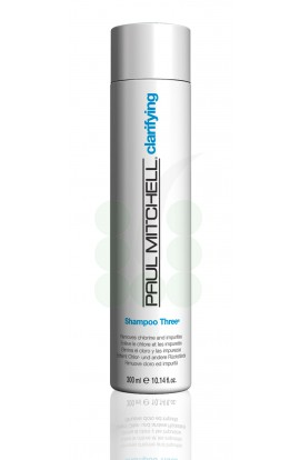 PAUL-MITCHELL_CLARIFYING_Shampoo-Three_Removes-chlorine-and-impurities_300ml