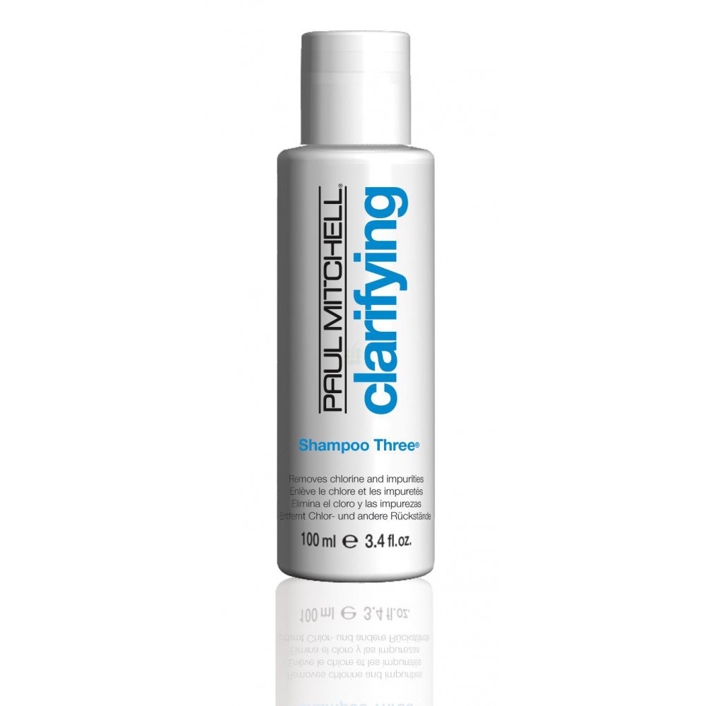 PAUL-MITCHELL_CLARIFYING_Shampoo-Three_Removes-chlorine-and-impurities_100ml